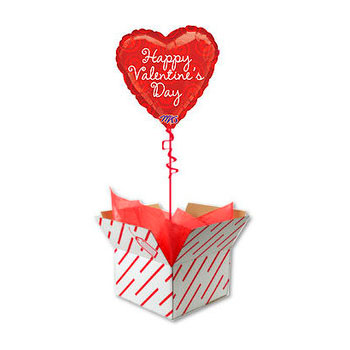 Коробка сюрприз с шаром Сердцем