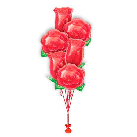 Фонтан из шаров Розы