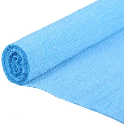 Бумага гофрированная голубая № 58 120 г 50х250см