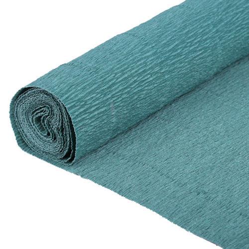 Бумага гофрированная синяя № 13 120 г 50х250см
