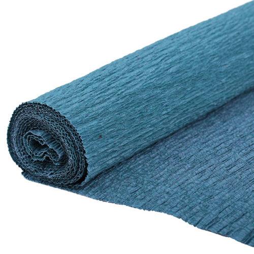 Бумага гофрированная синяя № 16 120 г 50х250см