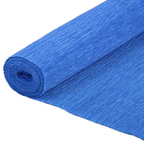 Бумага гофрированная синяя № 34 120 г 50х250см