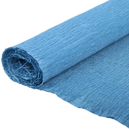 Бумага гофрированная синяя № 56 120 г 50х250см