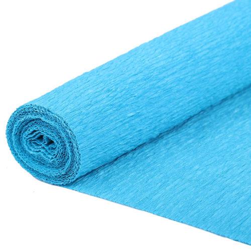 Бумага гофрированная синяя № 57 120 г 50х250см