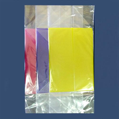 Подарочный пакет с жестким дном 7 х 11 х 40 см