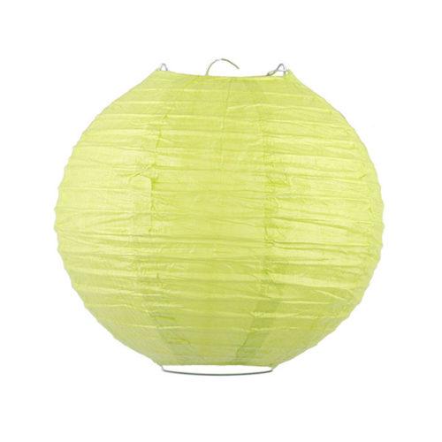 Подвесной фонарик 25 см Стандарт фисташковый
