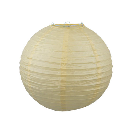 Подвесной фонарик 30 см Стандарт желтый