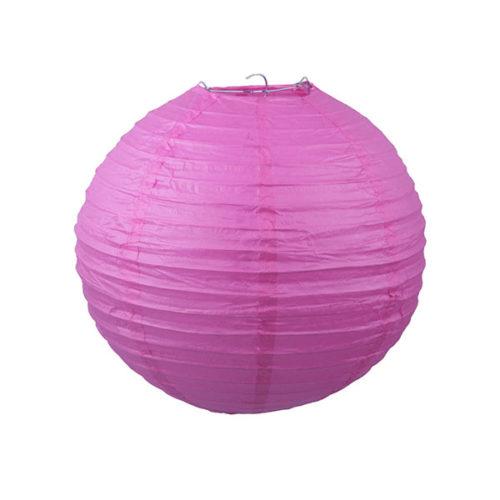 Подвесной фонарик 30 см Стандарт малиновый