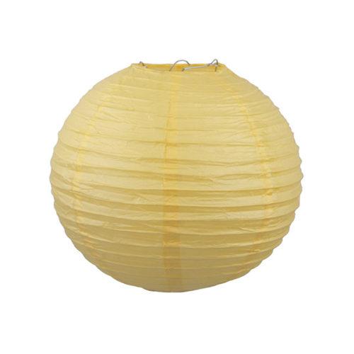 Подвесной фонарик 30 см Стандарт ярко-желтый