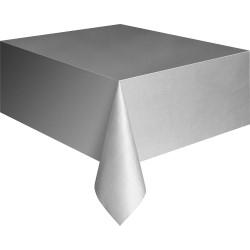 Скатерть п-э 137 х 274 см Серебро