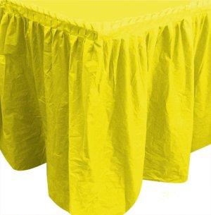 Юбка 75 х 400 см Делюкс Желтая