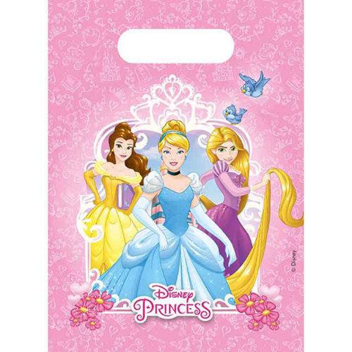 Пакеты подарочные 17 х 23 см Принцессы Дисней Сердечные истории 6 штук