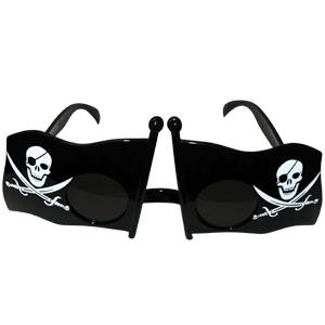 Прикольные очки Пиратский флаг