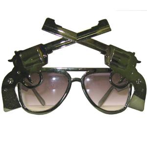 Прикольные очки Револьверы