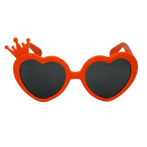 Прикольные очки Сердца с короной