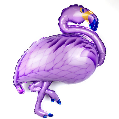 Шар 97 см Фигура Фламинго Сиреневый