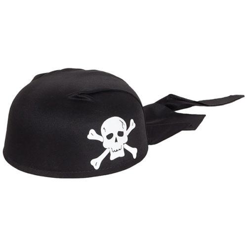 Шляпа Бандана Череп черная
