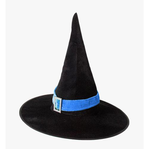 Шляпа Конус черная с лентой