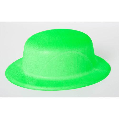 Шляпа Неон Салатовая круглая