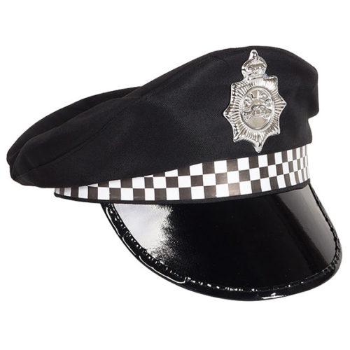 Шляпа Полиция черная
