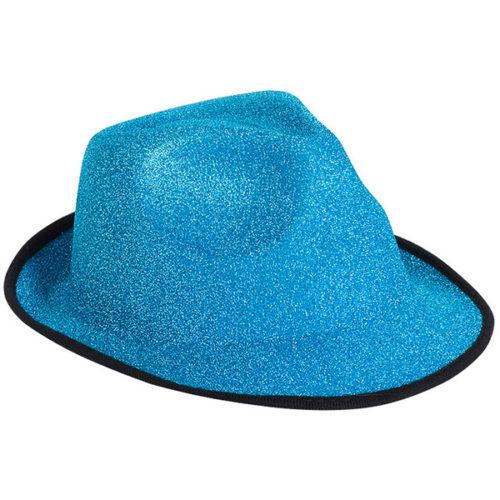 Шляпа Стильная голубая