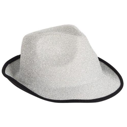 Шляпа Стильная серебро