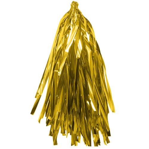 Гирлянда Тассел Золото фольга 12 листов