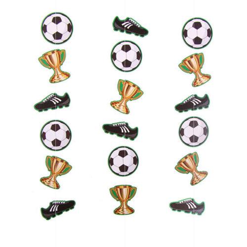 Гирлянда вертикальная Футбол 100 см 3 шт