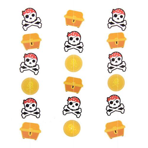 Гирлянда для шара Сокровища пиратов 100 см 1 штГирлянда для шара Сокровища пиратов 100 см 1 шт