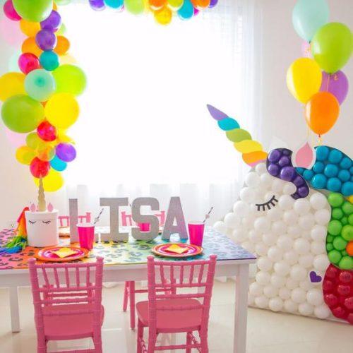 Комплект оформления для вечеринки Единорогов