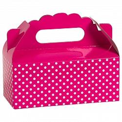 Коробка для пирожных Точки Фуше 1 шт