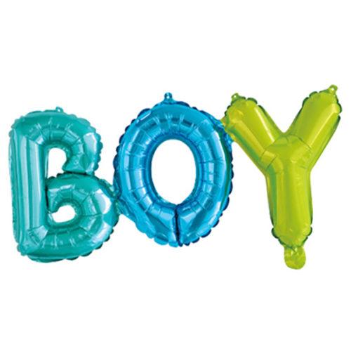 Надпись Boy Разноцветный 69 см
