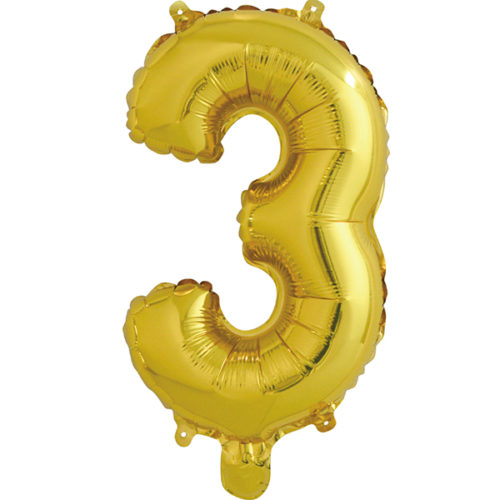 Шар 41 см Буква З Золото
