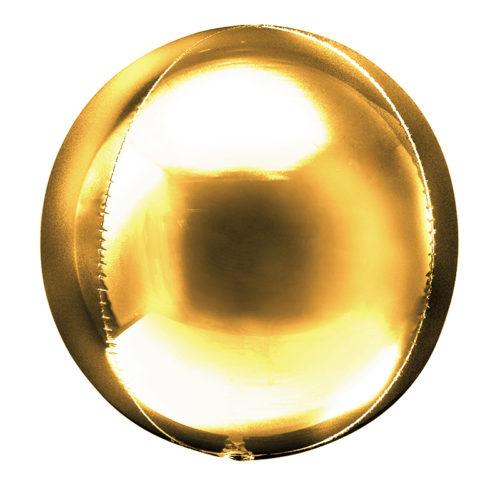 Шар 51 см Сфера 3D Золото