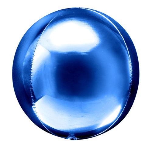Шар 51 см Сфера 3D Синий