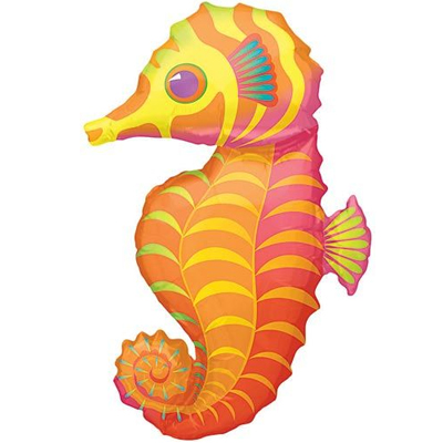 Шар 89 см Фигура Морской конек