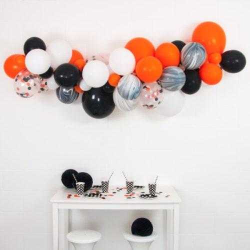 Гирлянда из разных шариков Хеллоуин 2 метра