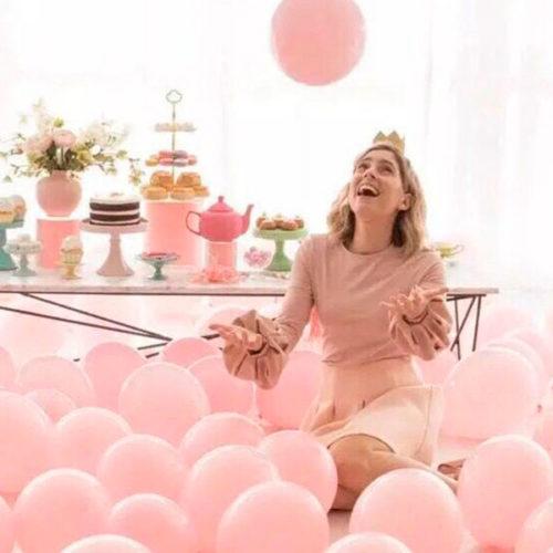 Комплект шаров на пол Розовое счастье для Принцессы