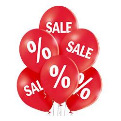 Связка из шаров Распродажа для украшения витрины