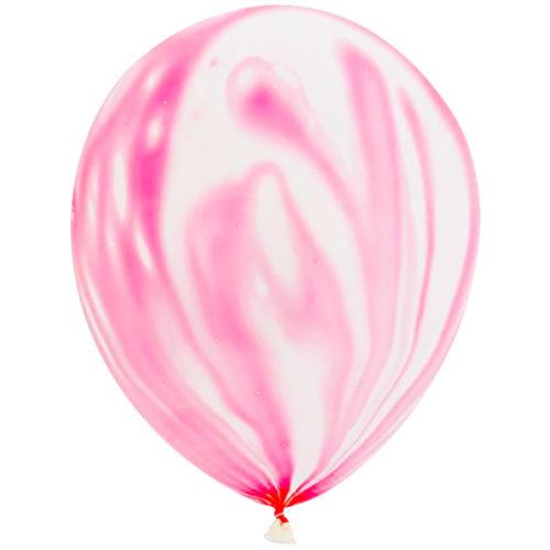 Шар 30 см Розовый Агат Пастель