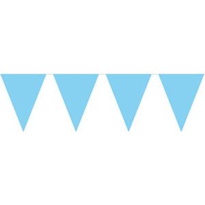 Гирлянда-вымпел голубая 10 м