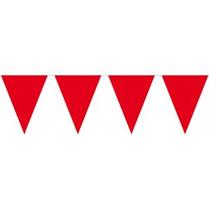 Гирлянда-вымпел красная 10 м