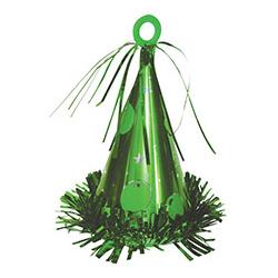 Грузик для шара Колпак зеленый 170 гр