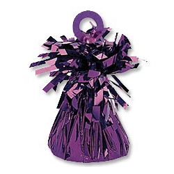 Грузик для шара Конус светло-фиолетовый 170 гр