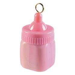 Грузик шара Бутылочка розовая 84 гр