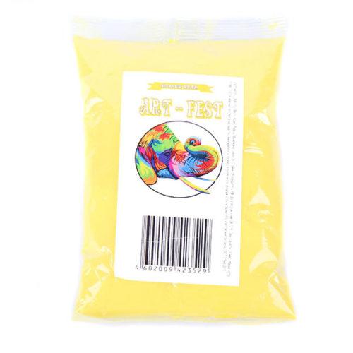 Краска Холи желтая 100 г
