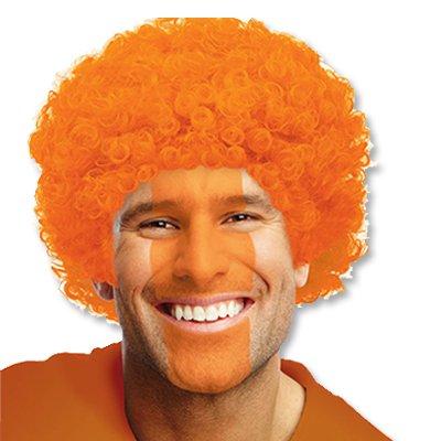 Парик Кудрявый Оранжевый