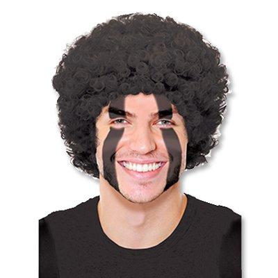 Парик кудрявый черный