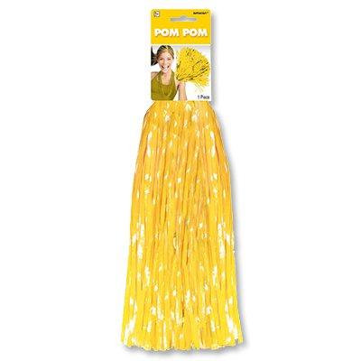 Помпон для черлидинга желтый 1 штука