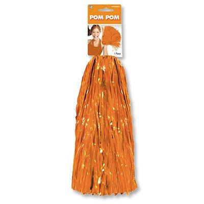 Помпон для черлидинга оранжевый 1 штука